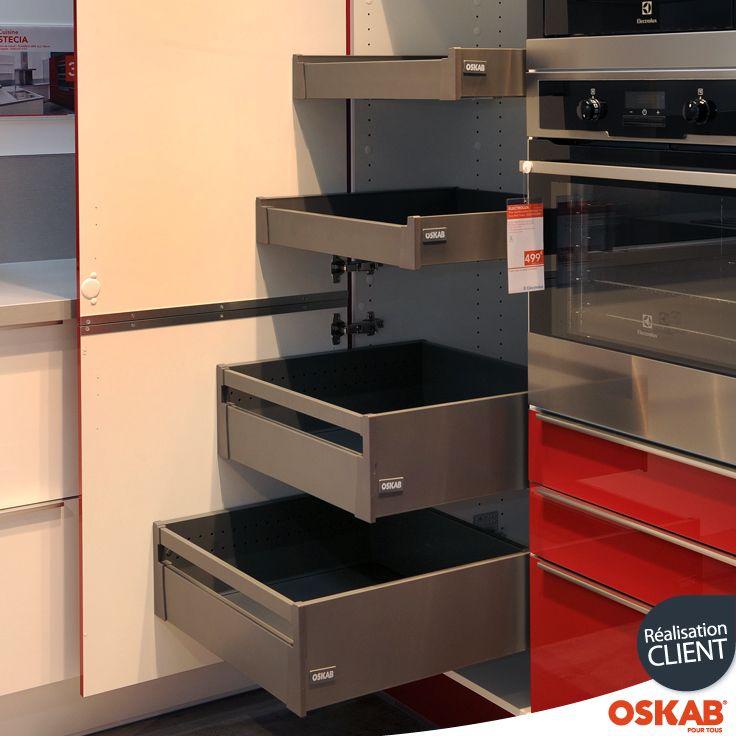 Armoire de rangement avec 4 tiroirs à lu0027anglaise métalliques, de - meuble de rangement avec tiroir