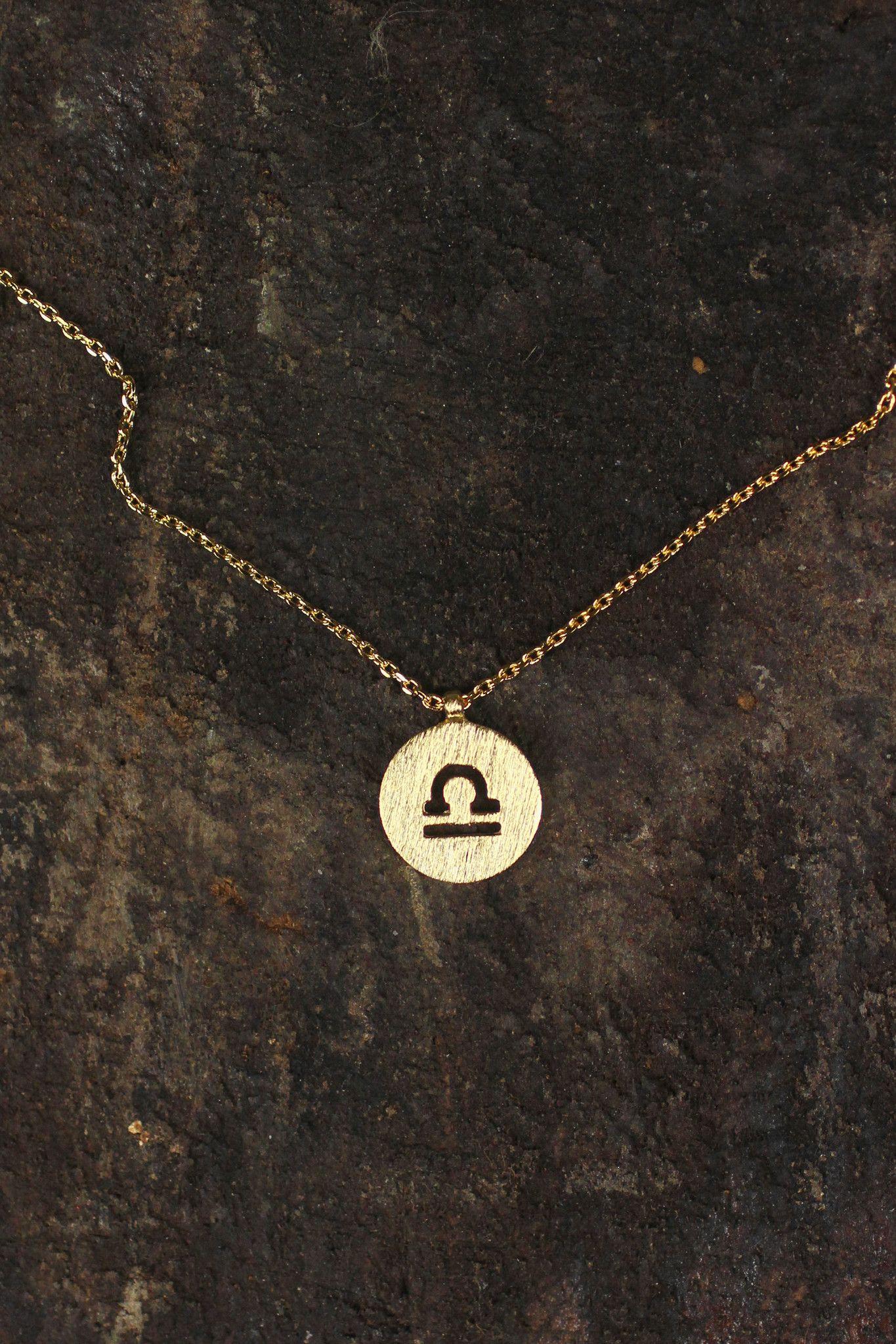 Libra charm necklace piercings u accessories pinterest