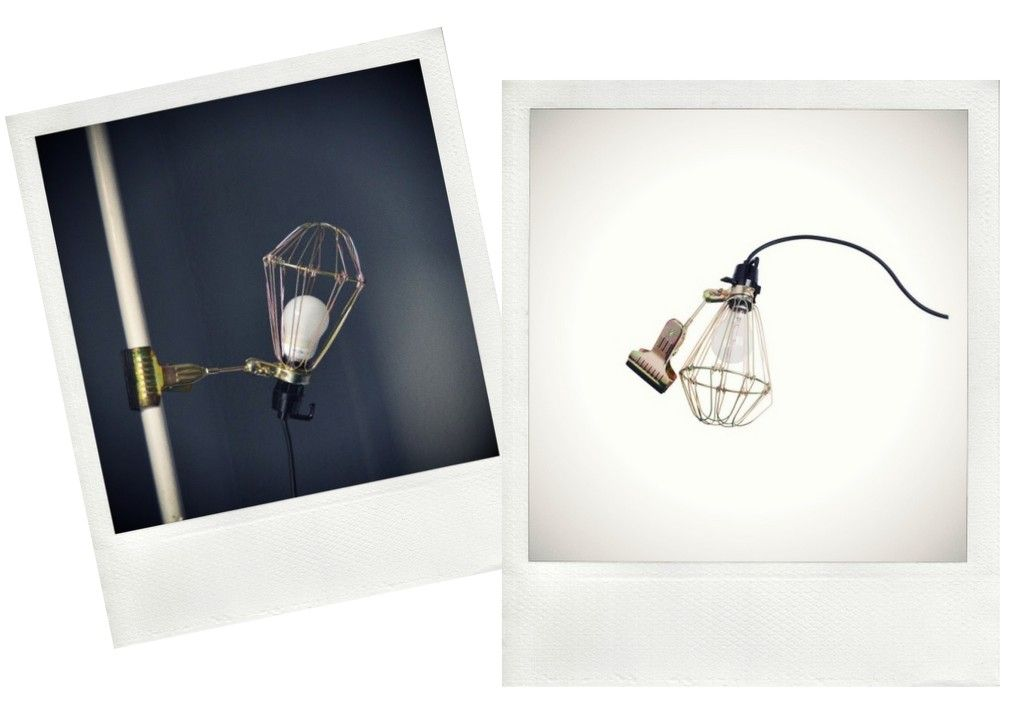 Stunning Kul industriell lampe fra HAY Hviit