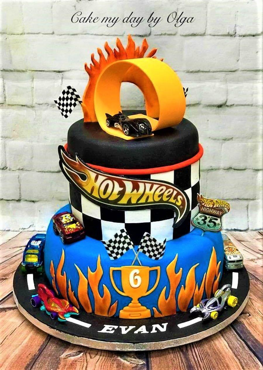 Hot Wheels Birthday Cake Hot Wheels Birthday Cake Cakes