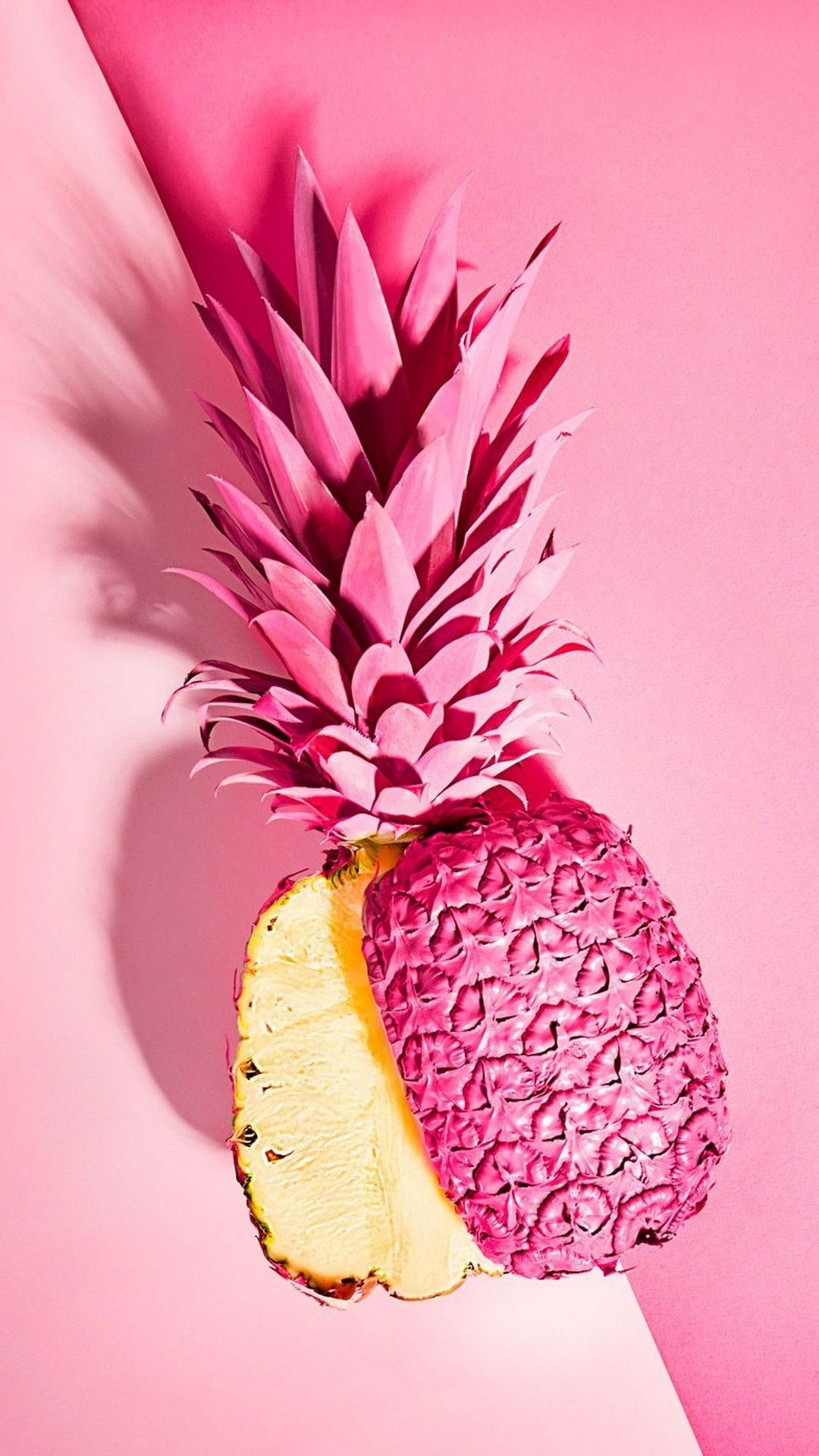 Pink Pineapple Mobile Wallpaper | Best HD Wallpapers | Wallpaperscute in 2019 | Pink pineapple ...