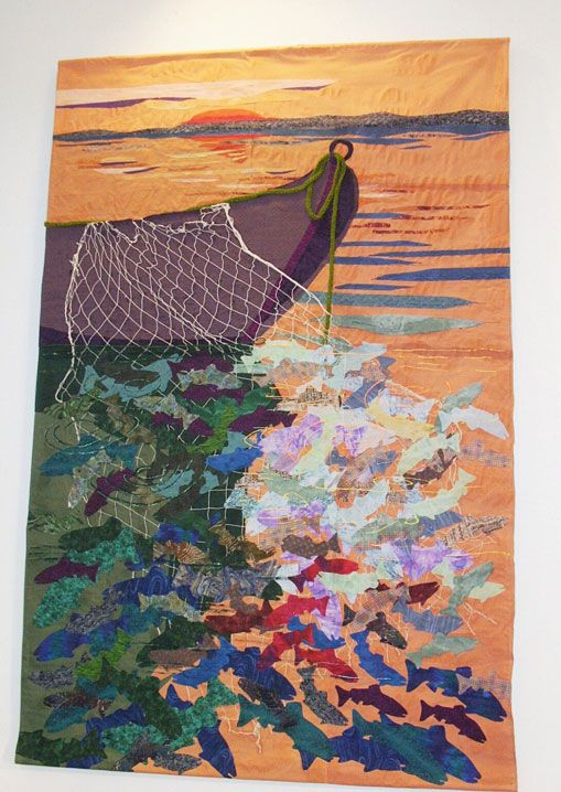 Image result for prophetic art fishers of men