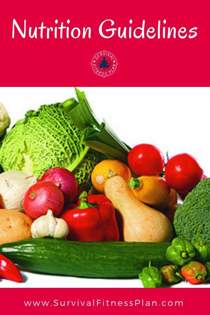 Eating for optimal health 5 basic nutrition guidelines