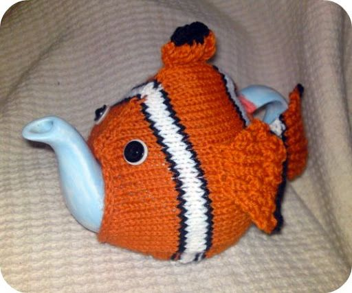Nemo Tea Cosy Stratagem Addict Online Knitting Patterns C