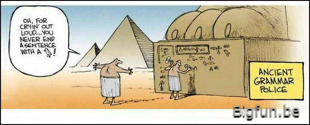Funny Pictures About Egypt: 23 Witty Grammar Jokes & Puns To Satisfy Your Inner