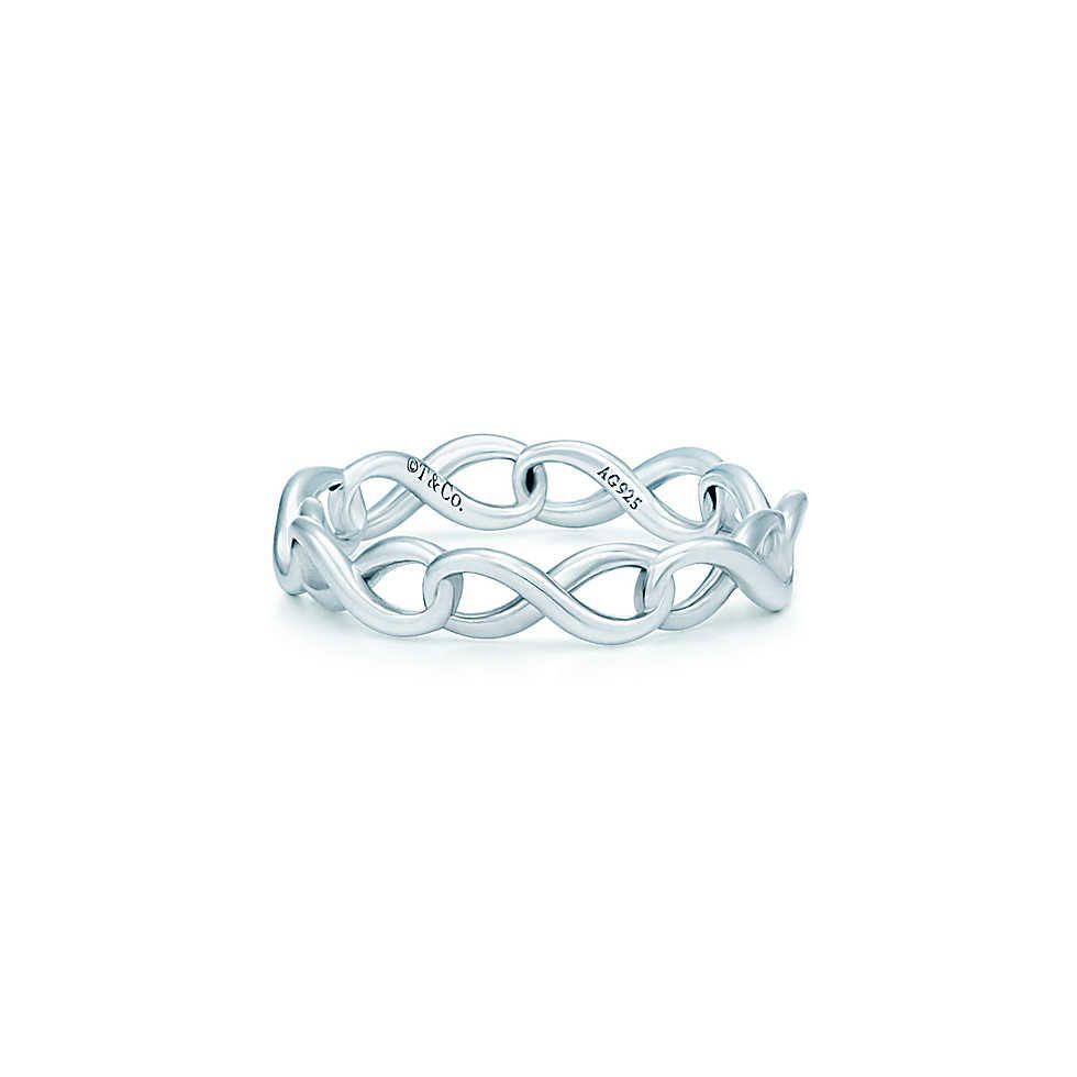 4008f8b46 Narrow Band Ring | Travel | Tiffany infinity rings, Tiffany rings ...