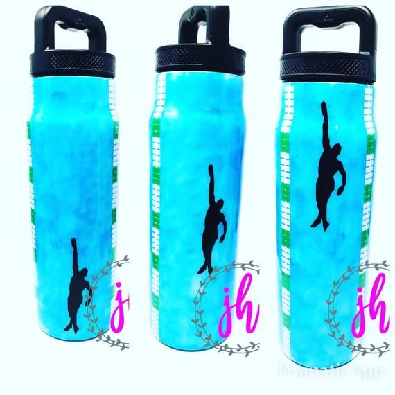 Swim Team Swimming Pool Swim Race Custom Tumbler Bottle Etsy In 2020 Custom Tumblers Swim Racing Swim Team