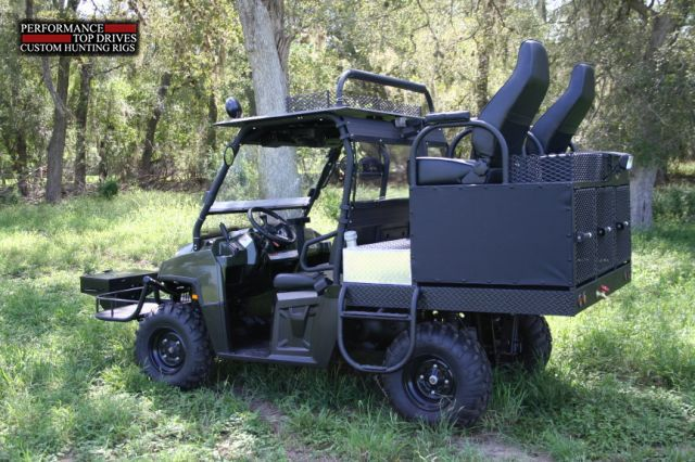 Polaris Xp Hunting Rig 1 Hunting Truck Polaris Ranger