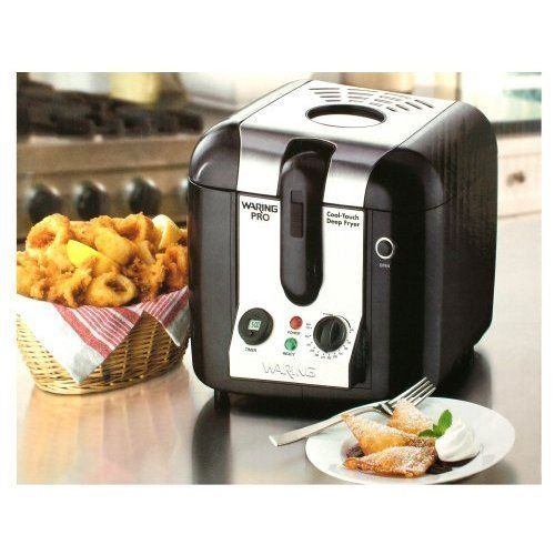 Waring Pro Wpf100bpc Professional Cool Touch Deep Fryer Kitchen