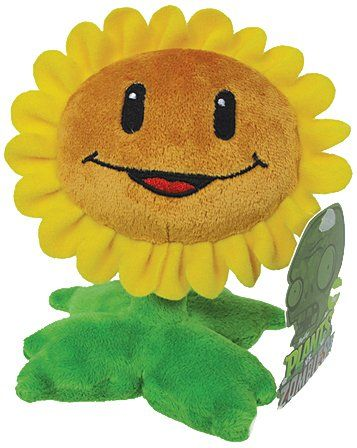 Plants Vs Zombies Sunflower Plush Plants Vs Zombies Http Www Amazon Com Dp B00a8e5ggg Ref Cm Sw R Pi Dp L 2 Tb12z0jq1 Plants Vs Zombies Zombie Plush