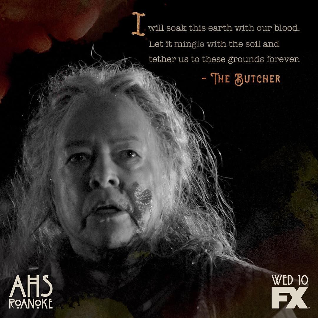 Ahs Roanoke The Butcher Kathy Bates American Horror Story
