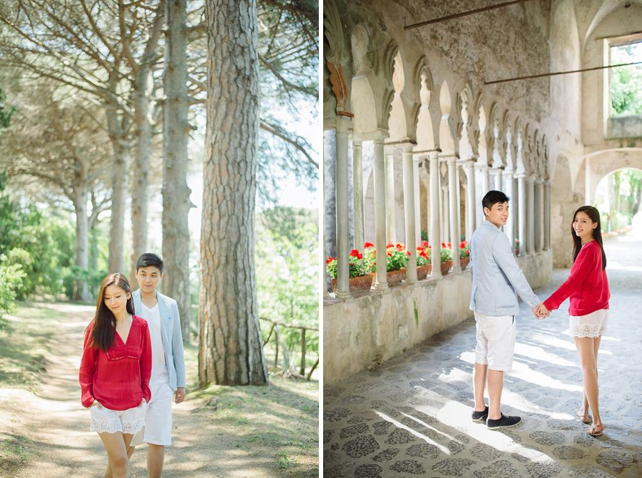 Aston and Victoria's Breathtaking Engagement on the Amalfi Coast of Italy