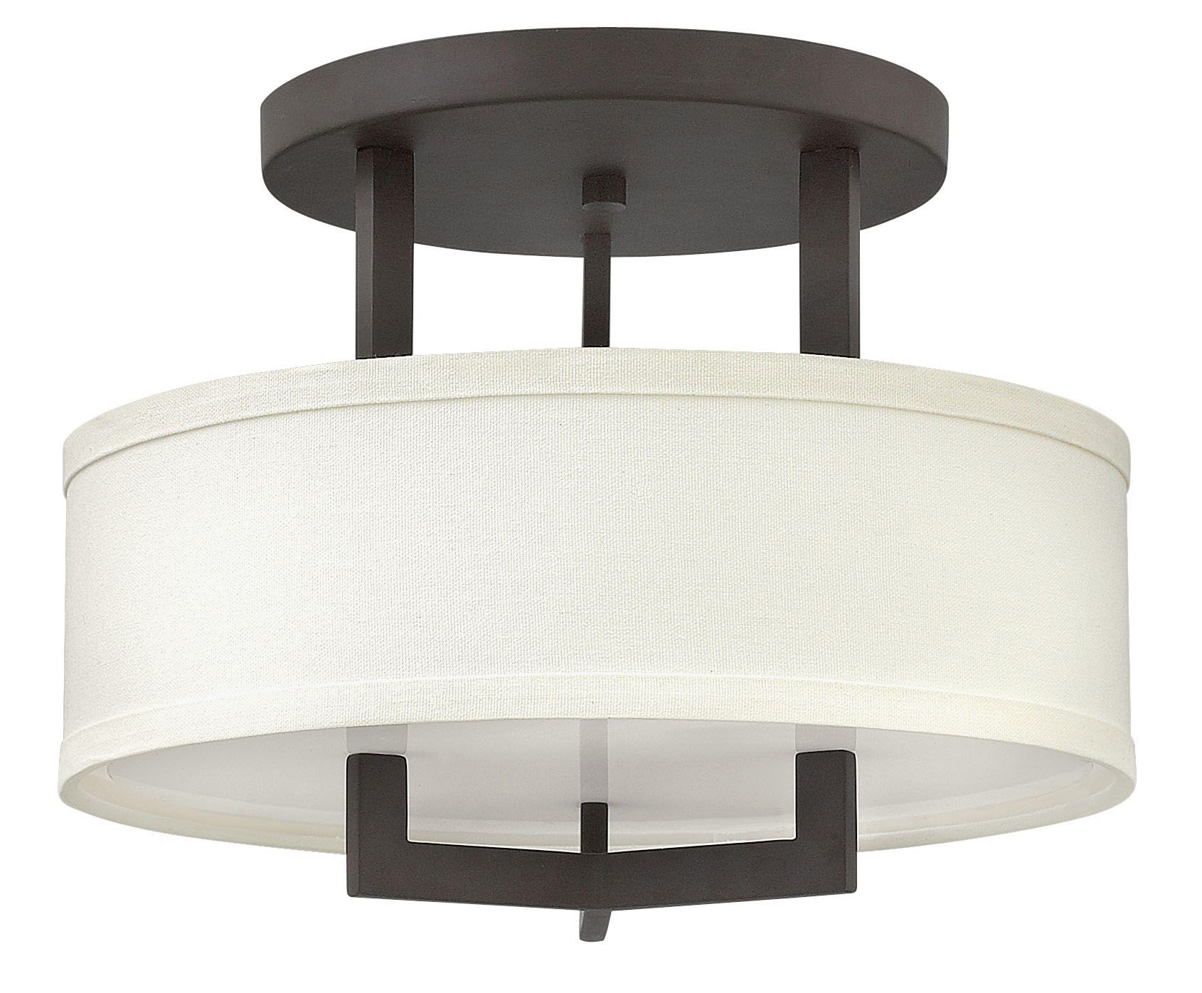 Hampton Semi Flush Ceiling Light By Hinkley Lighting 3200br Bronze Ceiling Lights Semi Flush Ceiling Lights Semi Flush Mount Lighting