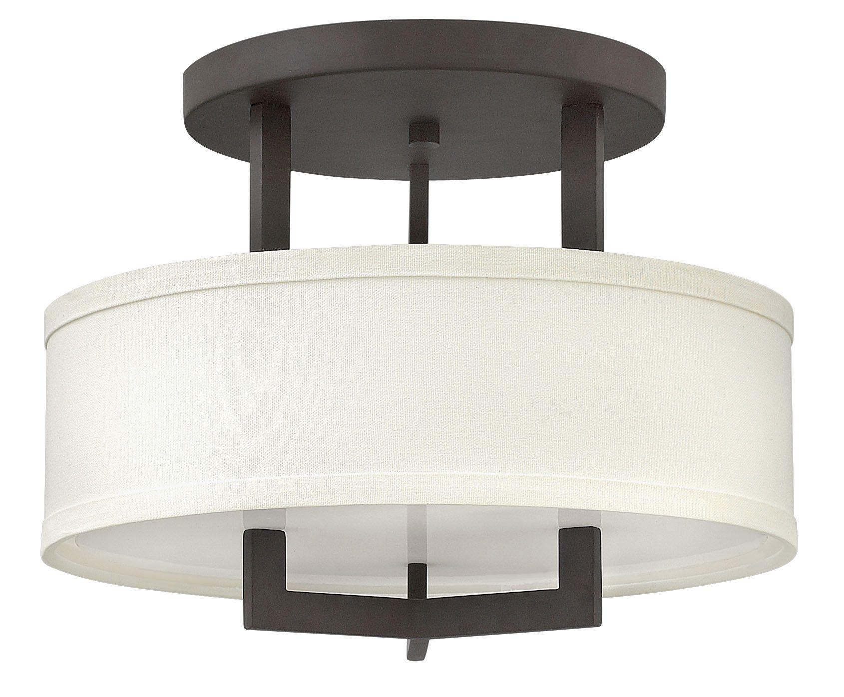 Hampton Semi Flush Ceiling Light By Hinkley Lighting 3200br
