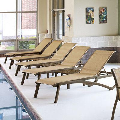 Grosfillex Sedie Da Giardino.Grosfillex Commercial Resin Furniture Monte Carlo Chaise Lounge