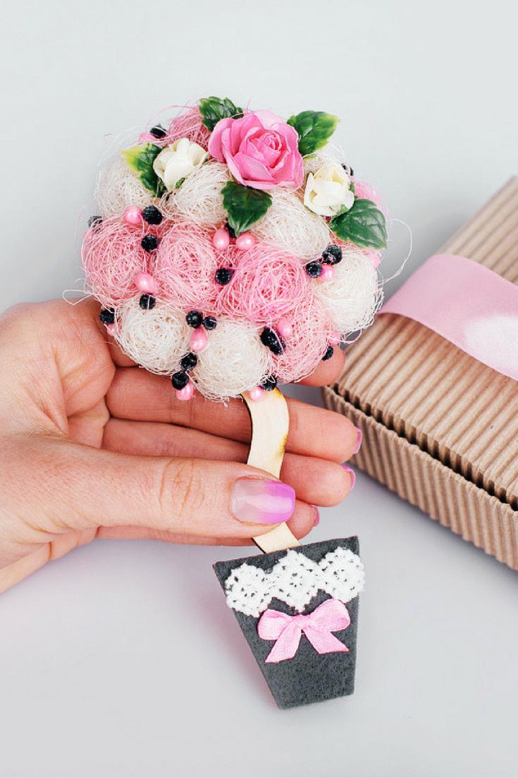 bridesmaid gift Ideas bridal shower gift magnet unique magnet pink ...