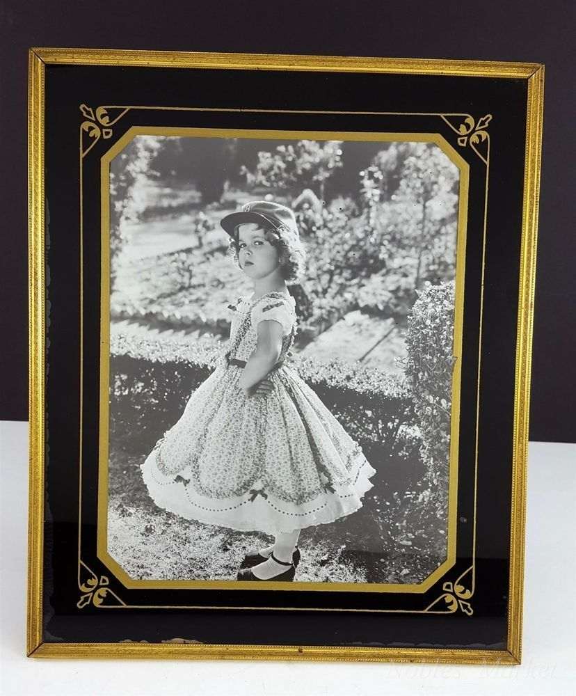 Shirley Temple Black, Gold 10x12\