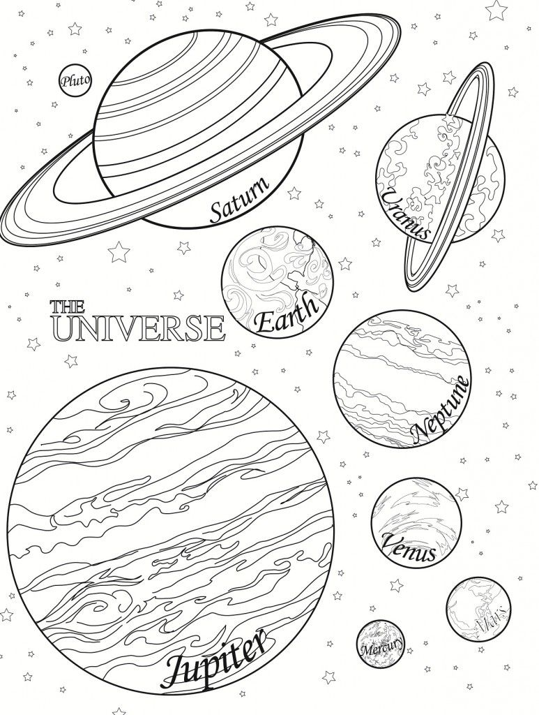 Free Printable Planet Coloring Pages For Kids Planet Coloring