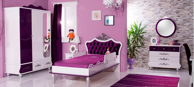 anastasia lila m dchen kinderzimmer f r prinzessinen m bel spot kids kinderzimmer. Black Bedroom Furniture Sets. Home Design Ideas