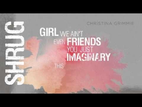 "Christina Grimmie Releases ""Shrug"" Lyric Video | Fanlala.com"