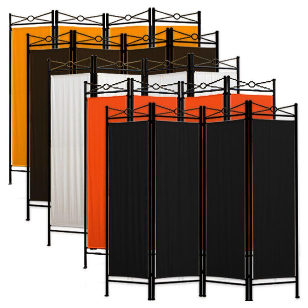 Biombo pared divisoria 4 paredes mampara divisor de espacios separador loft sliding room - Biombos separadores de espacios ...