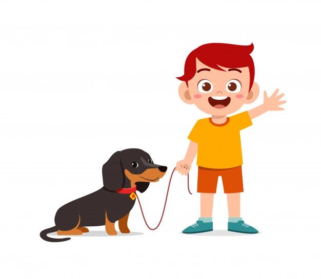 Colorfuelstudio Freepik Perro De Dibujos Animados Perro Spaniel Arte Lindo