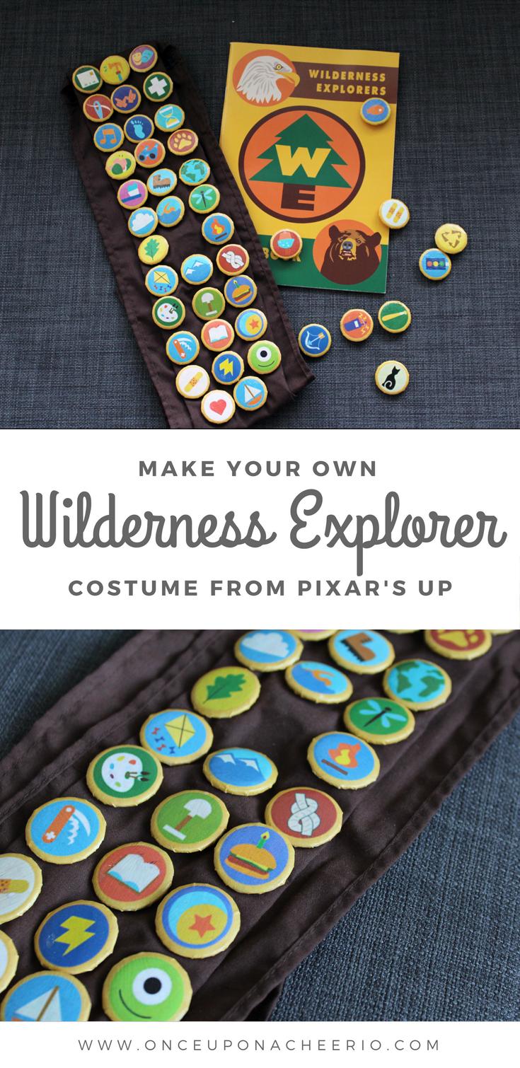 8c302b1a2 Wilderness Explorer Costume from Pixar's UP | *{CRAFTS}* | Pixar ...