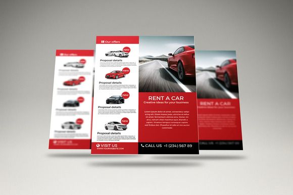 Rent A Car Flyer Pinterest Flyer Template