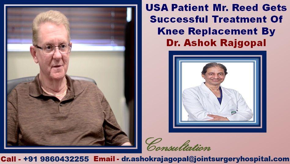 Dr  Ashok Rajgopal Top Minimally Invasive Knee Surgeon In