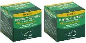 Magnilife Diabetic Neuropathy Foot Cream 4 Fl Oz (118 Ml)? Pack of 2 by Magnilife. $39.95. Diabetic Neuropathy Foot Cream. Relieve Burning, Tingling Neuropathy Pain Whether you suffer from the shooting, stabbing, burning sensations of neuropathy or tingling and numbness, this Diabetic Foot Cream will help. It calms damaged nerves, improves circulation and helps soothe severely dry, cracked skin. Simply massage this greaseless formula on your feet, heels and toes... #CrakedSkinOnHands #crackedski #crackedskinonheels