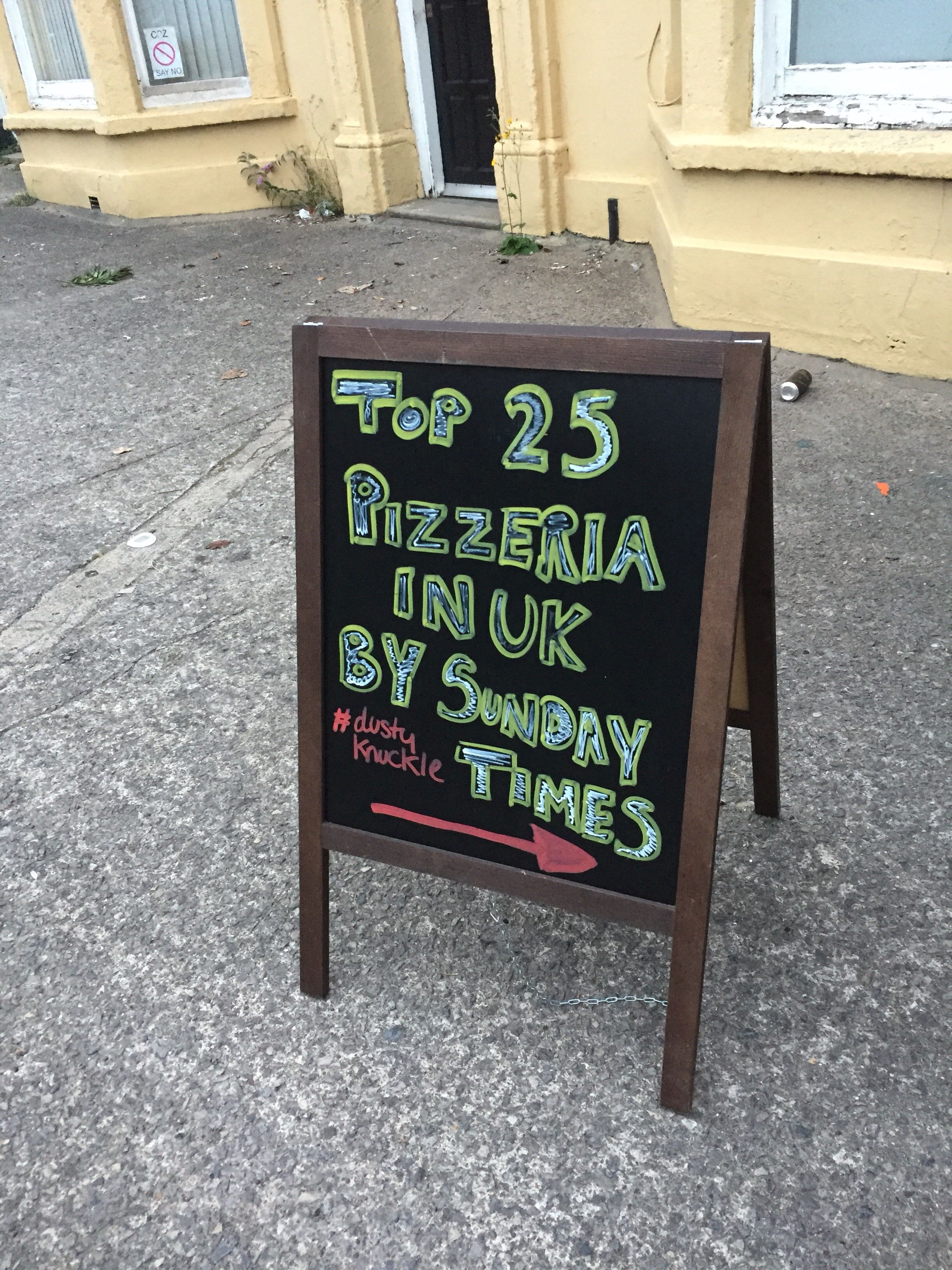 Dusty Knuckle Pizza Cardiff Restaurant Feature Review