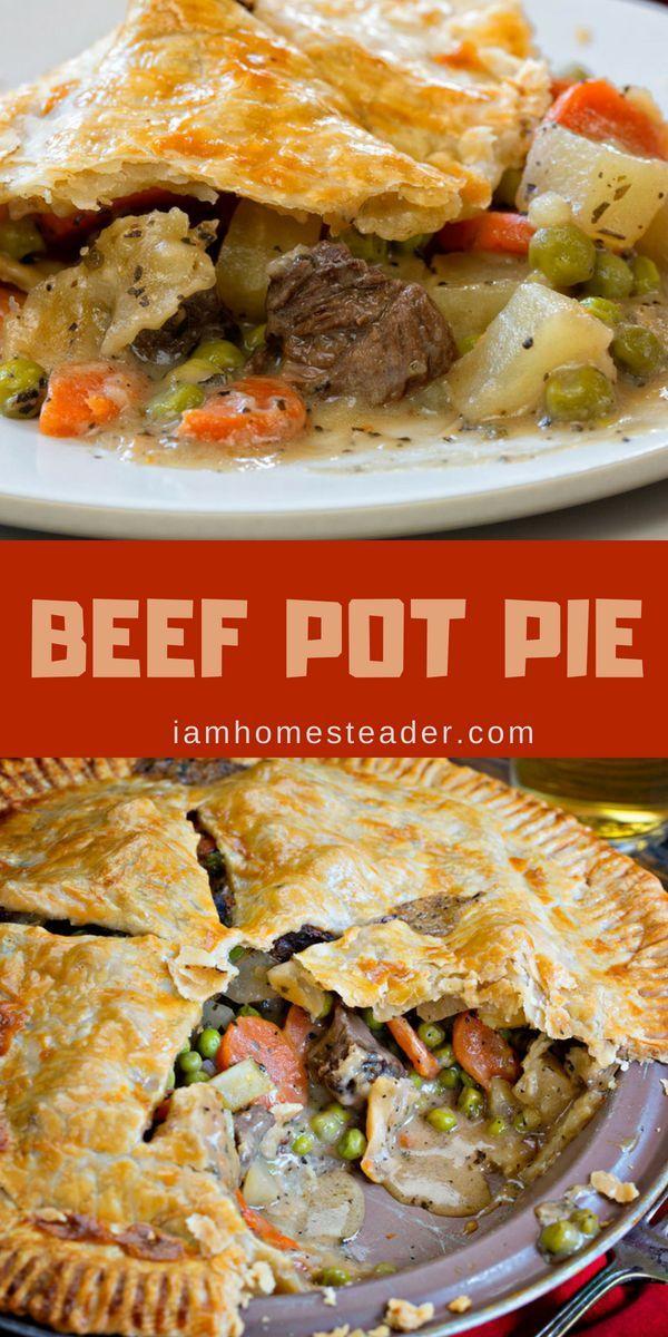 Beef Pot Pie | Recipe | Beef recipes, Food recipes, Beef ...