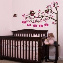 """wall decal """" i love owls""""!"""
