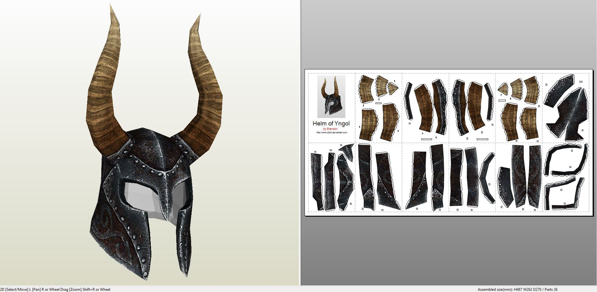 Papercraft pdo file template for skyrim helm of yngol papercraft pdo file template for skyrim helm of yngol pronofoot35fo Image collections