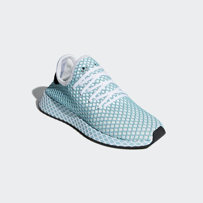 Deerupt Runner Parley Shoes White 10 Womens | Dress shoes