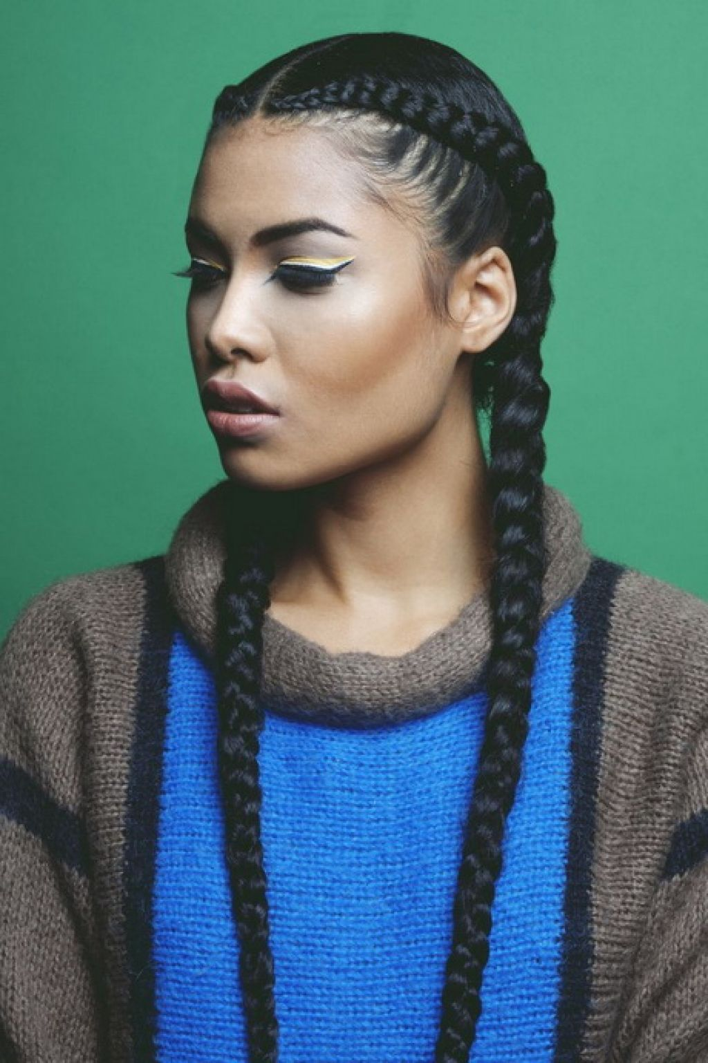 french braid hairstyles for black women. diy hairstyles and