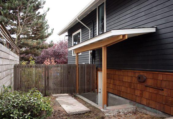 Side Yard Roof Basement Entrance Basement Steps