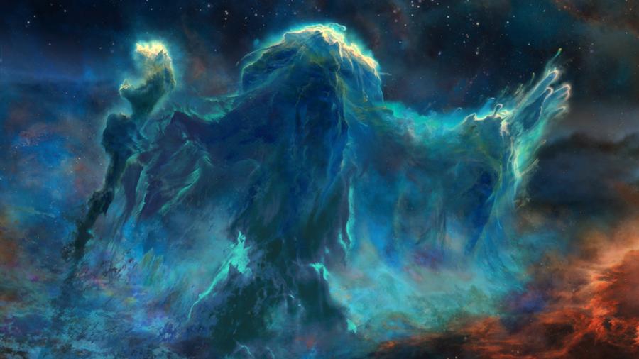 Skyrim Mage Nebula by Lorem-Spitfire on DeviantArt