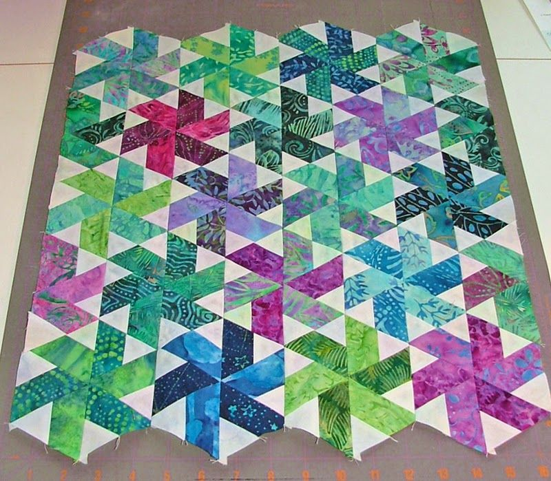 My most recent project has been making a Mini Tiny Dancer quilt, designed by Julie Herman of Jaybird Quilts. I started by sorting thr...