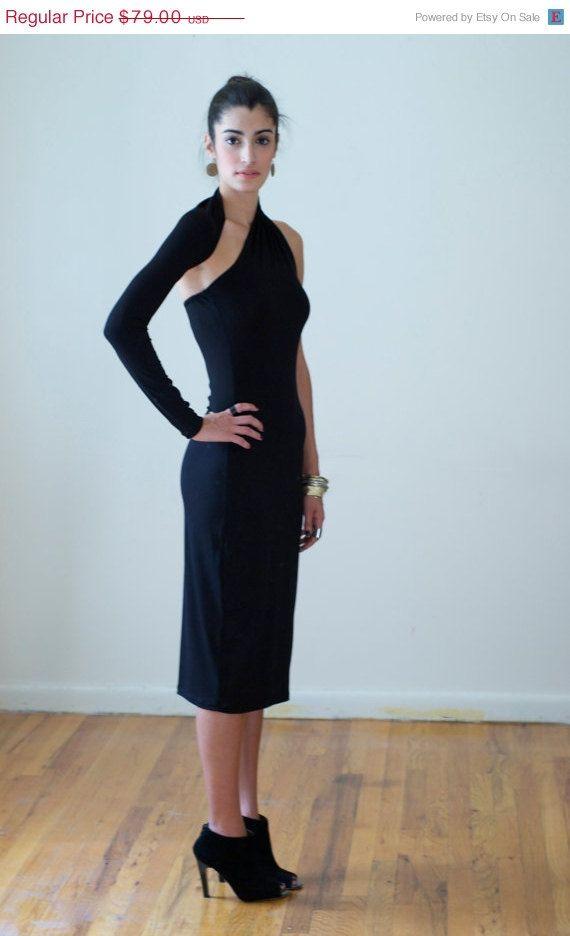 Evening Dress / Formal Dress / Party Dress / One Shoulder Pencil ...