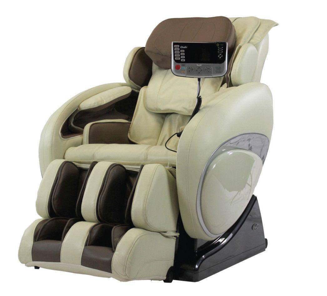 Osaki massage chair 4000t zero gravity recliner in cream