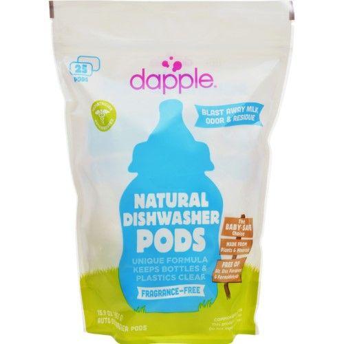Dapple Dishwashing Detergent Pods Fragrance Free 25 Ct