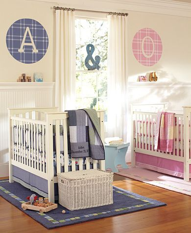 todays roundup is made up especially for the parents of twins a boy and a girl we are sharing some ideas to design a cool nursery for them designing a