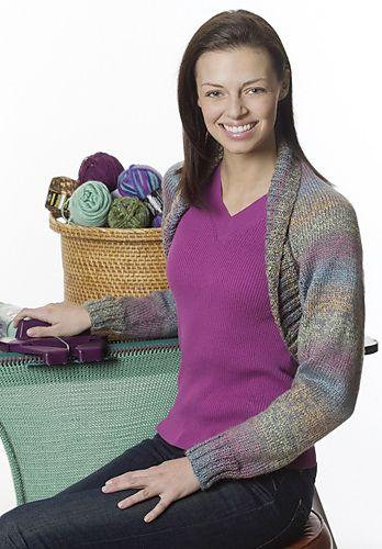 Ravelry Simple Shrug Pattern By Bond America Knitting