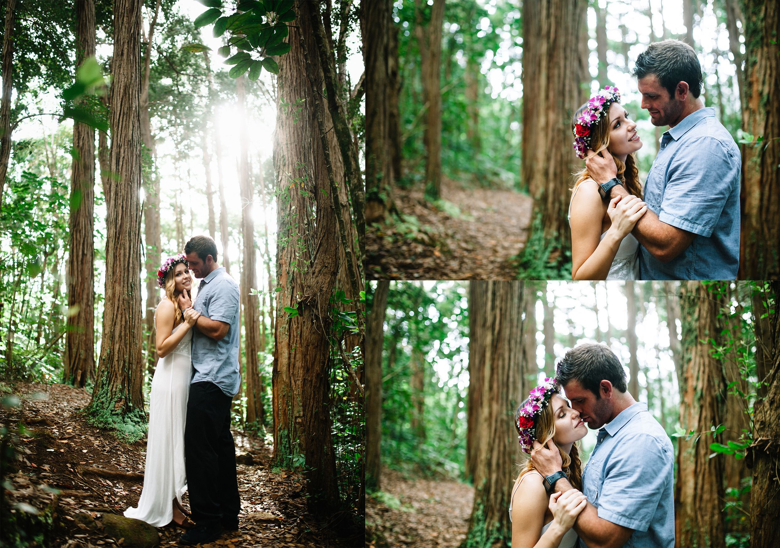 A&K Engagement. New Wave Photography. Oahu Wedding Photographer