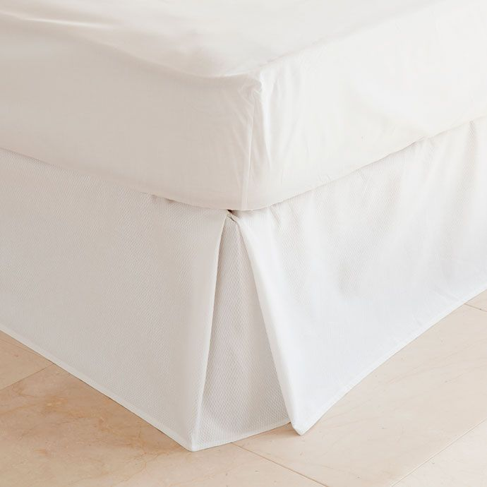 Cubre Canape Pique Blanco