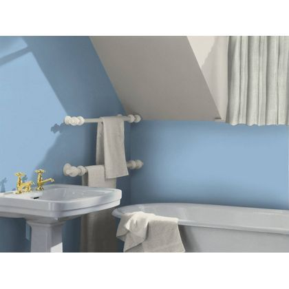 blue lagoon dulux paint available now at homebase in. Black Bedroom Furniture Sets. Home Design Ideas