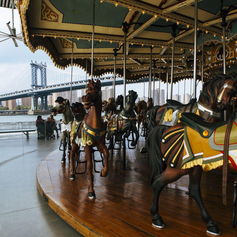 Jane's Carousel in Brooklyn, NYC