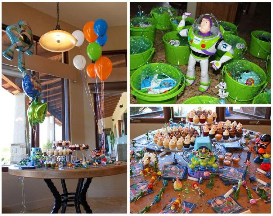 Games To Play At Toy Story Birthday Party : Toy story birthday party ideas alien visor craft find the