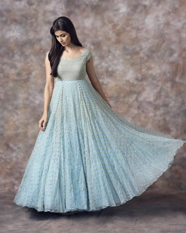 Green /& Black BanarasiChanderi Long Kurti With Net Lehenga Dupatta Wedding Festival Party Dress Sleeveless Zari Embroidery Ethnic Fashion